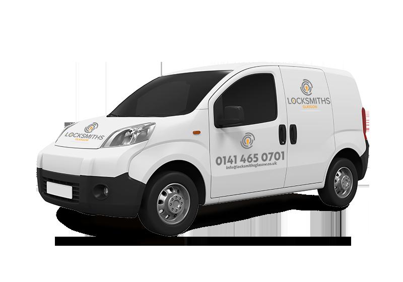 Locksmiths Glasgow Van